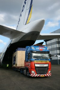 The compressors were delivered to London Stansted Airport on Monday 3rd April on a fleet of three Jan de Rijk Logistics trucks.