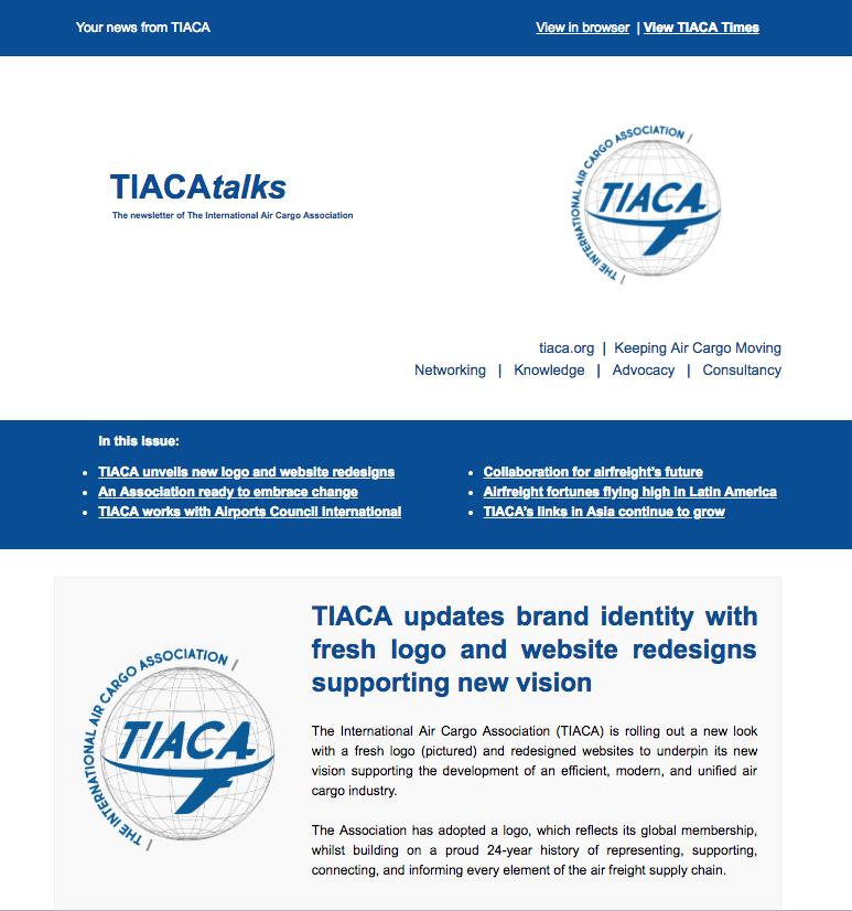 TIACA May 2018