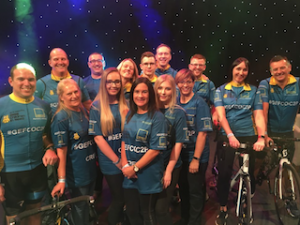 """""""The Coventry to Paris cycle challenge not only resulted in GBP50,000 being raised for charity, but led to new friendships being formed, healthy lifestyles being adopted, and a strong sense of community amongst our GEFCO UK sites,"""" said Helen Grover, Director of Human Resources, GEFCO UK."""