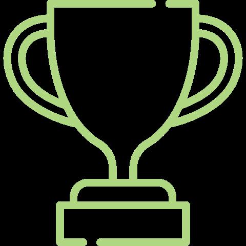 Graphics trophy B2B PR