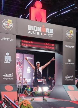"""When I finally crossed the finish line, I was relieved and elated, but it was not long before I was thinking about next year's competition."""