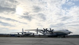 The AN-22 Antei can be operated from and to both paved, and unpaved runways, and with transports such as this one, the AN-22 can be more effective than the larger AN-124 Ruslan.