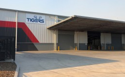 The new facility expands Tigers' processing capacity at its Sydney operations to 17,000 pallet locations