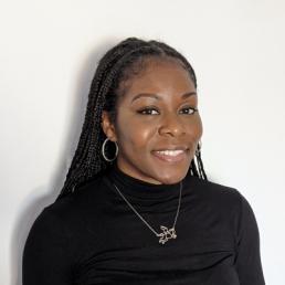 Portrait of Ebele Nwakude Executive Assistant Sustainability PR