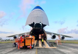 Antonov Airlines An-124-100 being loaded Supply Chain PR