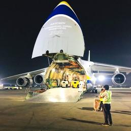 Antonov Airlines loading image Air cargo PR