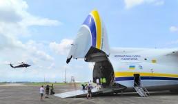 antonov airlines helicopter logistics PR