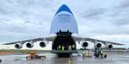 AN-225 breakbulk logistics pr