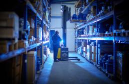 warehouse logistics pr