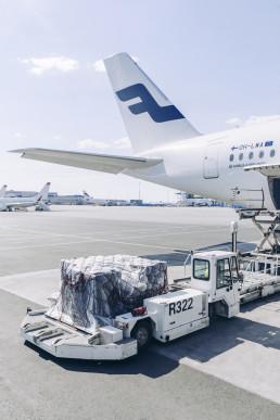 finnair cargo supply chain pr