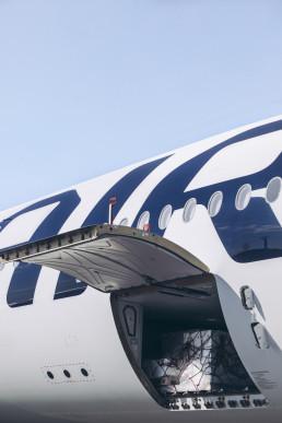 Finnair cargo logistics pr