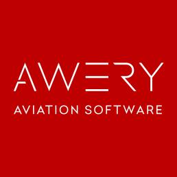 Awery aviation software logo logistics pr